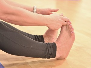 Toes for Things to look out for in yoga